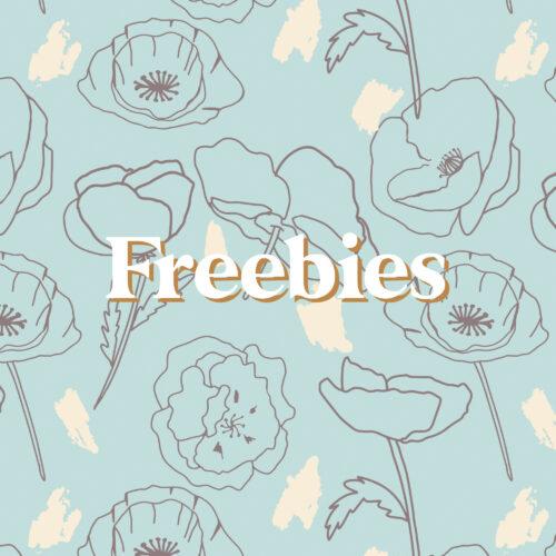 Digital Downloads - Freebies